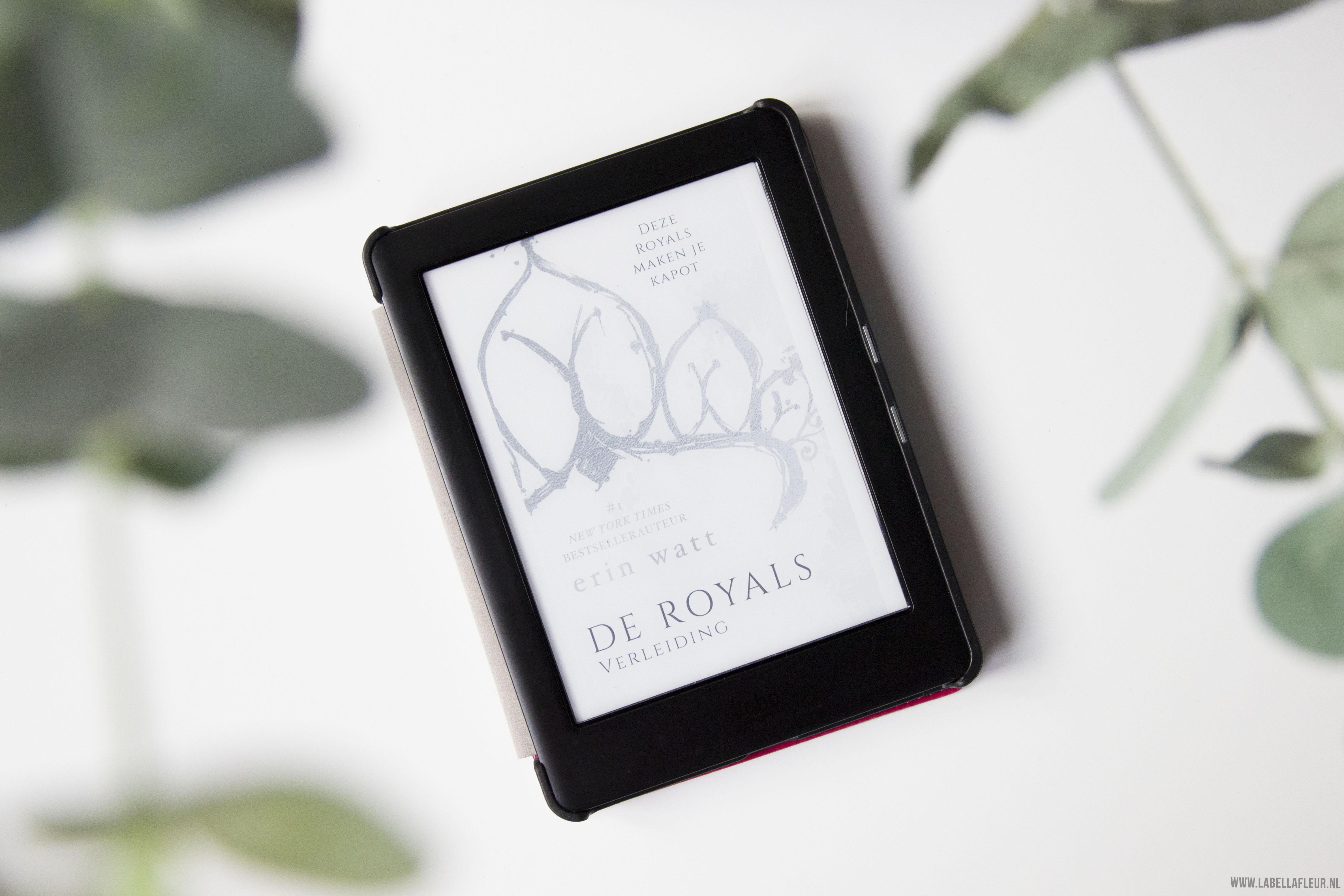 boeken, gelezen, De Royals, verleiding