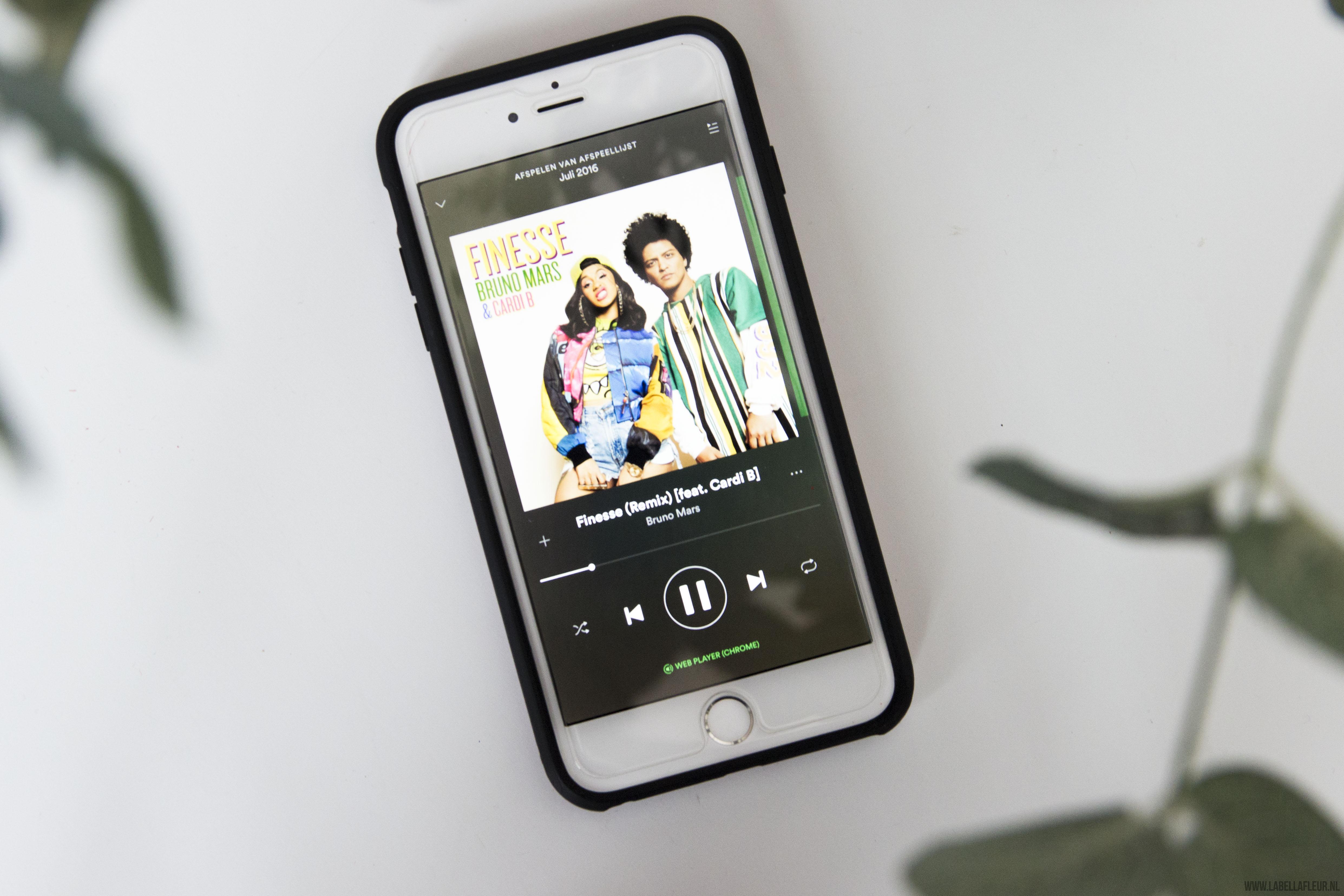 Spotify, muziek, favoriete nummers