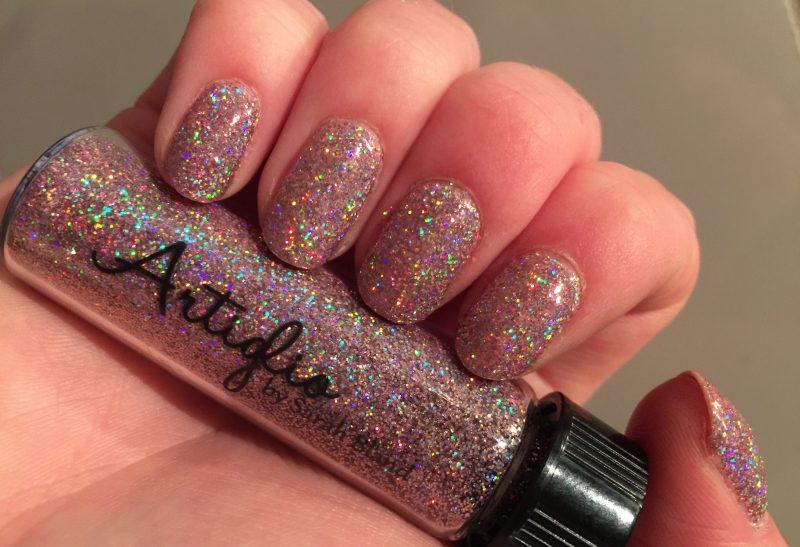Nails | Glamour nails met Artiglio Lola