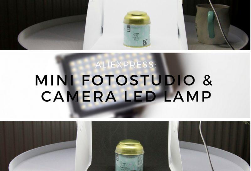 Lifestyle | AliExpress: Mini fotostudio & Camera led lamp