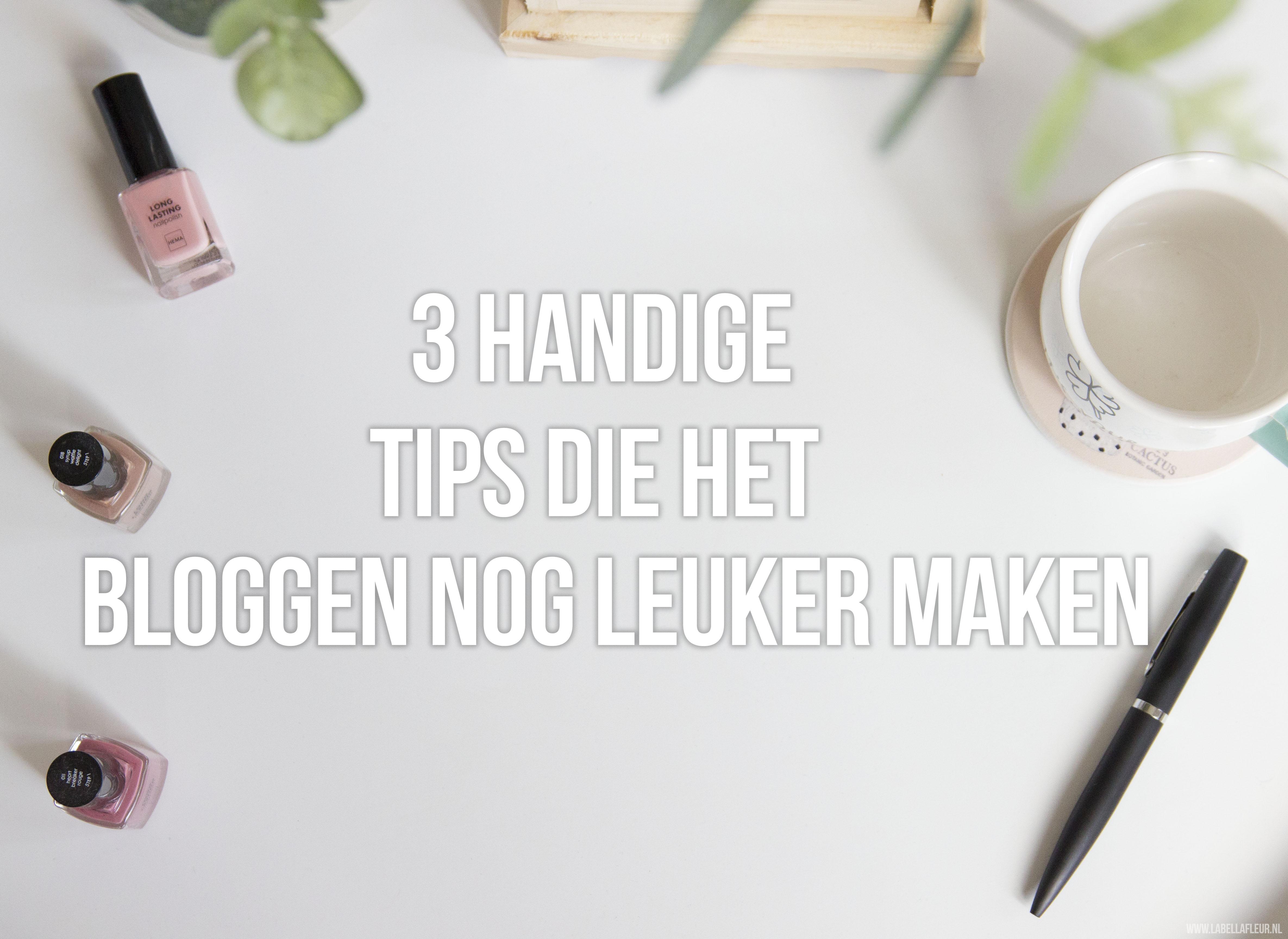 bloggen, tips