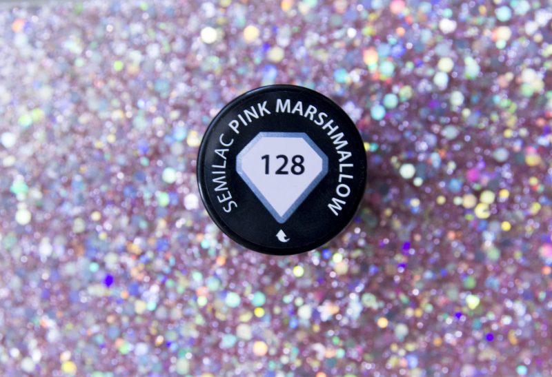 Nails | Semilac 128 Pink Marshmallow