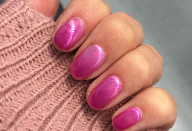 Nails | Thermo gecombineerd met Chrome nails