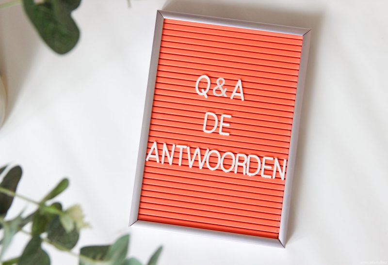 Personal | Instagram Q&A: De antwoorden