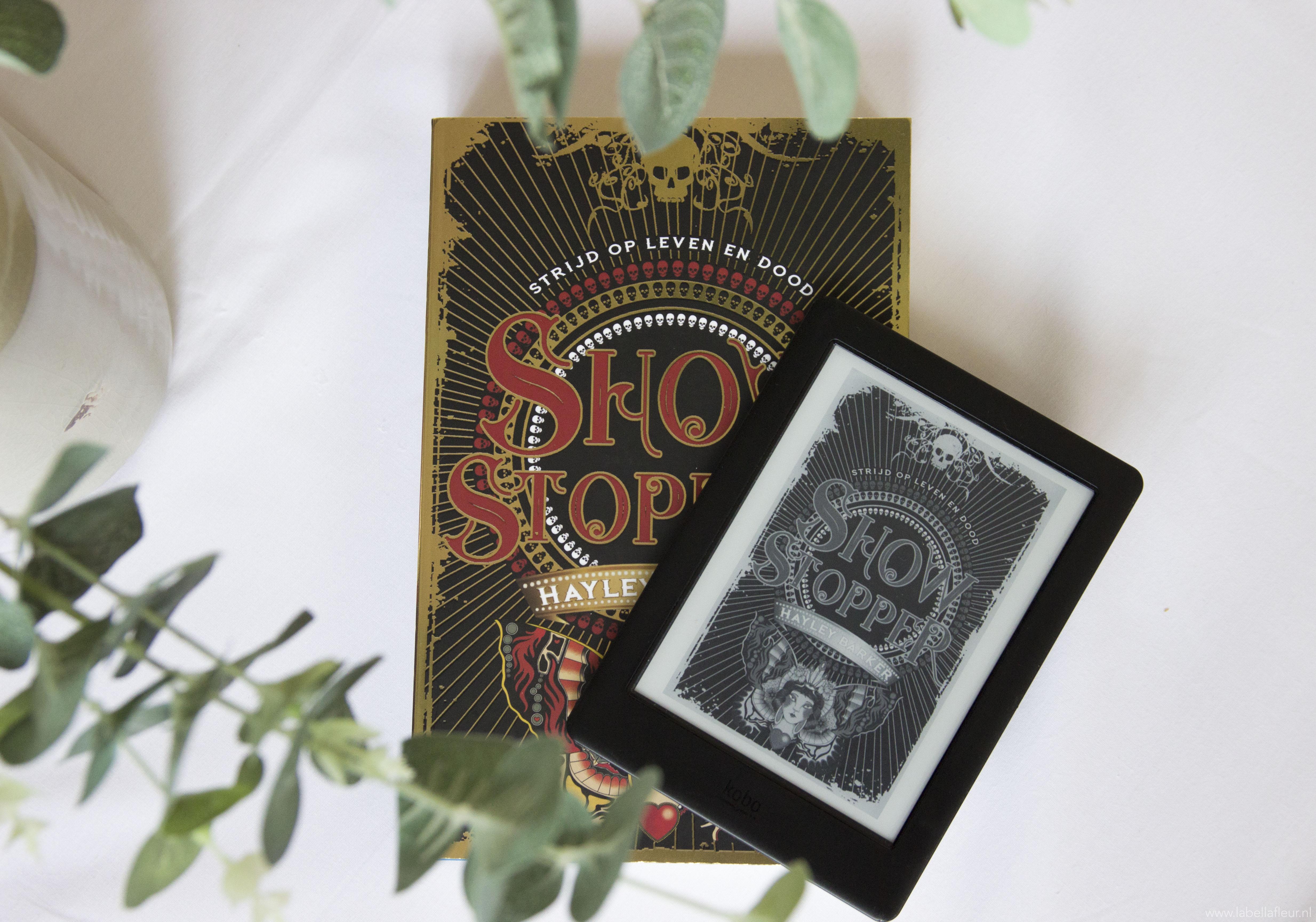 Boeken, gelezen, showstopper, recensie, Hayley Barker