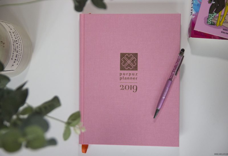 Lifestyle | Review: Pink Purpuz planner 2019