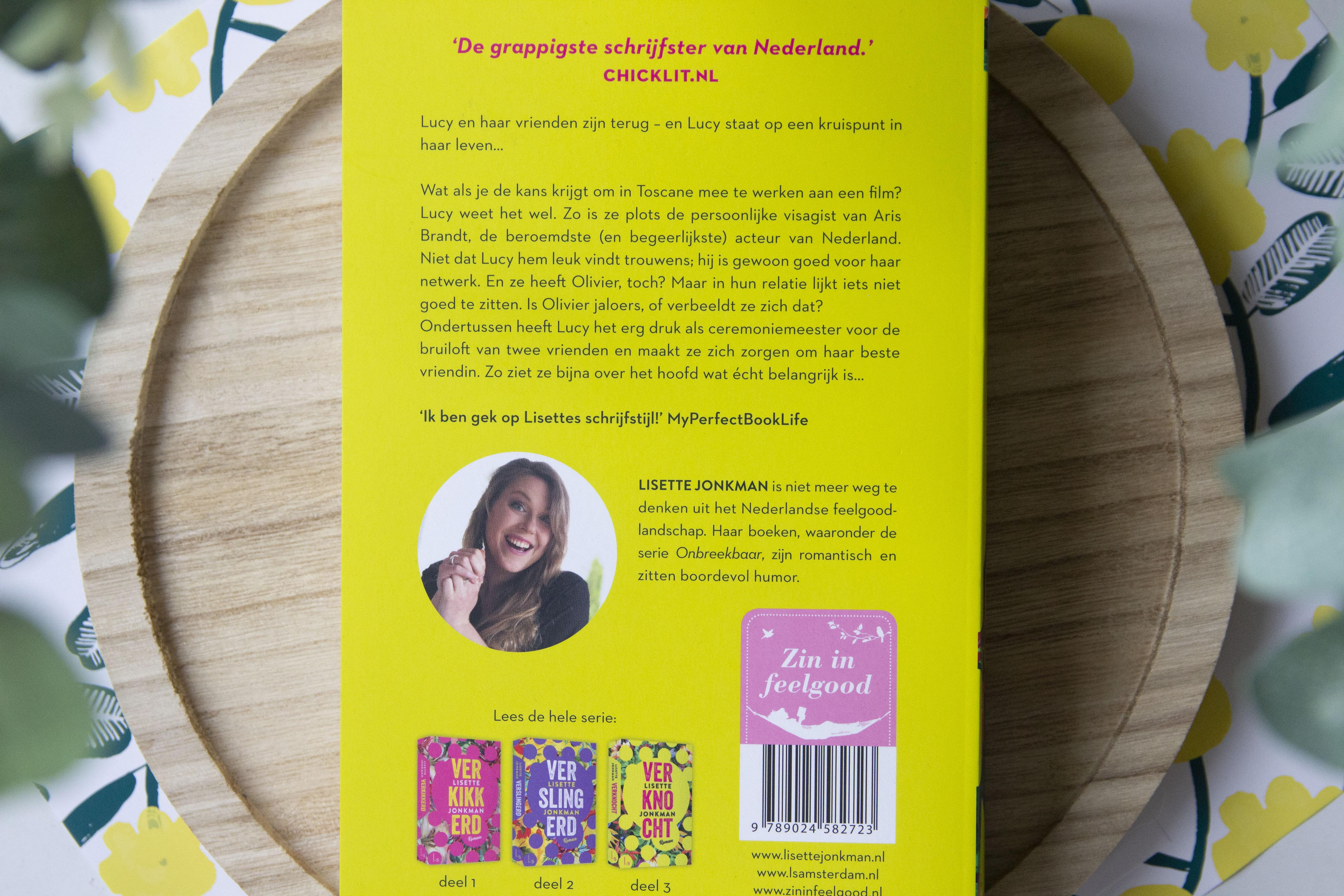 Verknocht, lisette jonkman, boeken, recensie