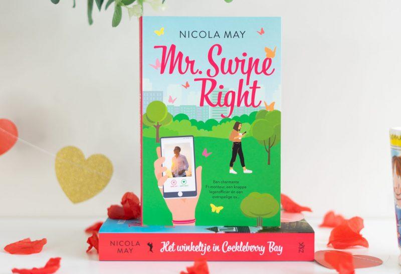 Boeken | Recensie: Mr. Swipe Right – Nicola May